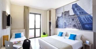 福罗伦萨诺弗豪华食宿酒店 - 佛罗伦萨 - 睡房