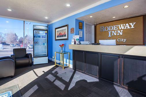 罗德威锡达城酒店 - 雪松城 - 柜台