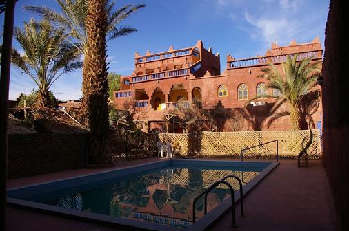 摩洛哥加拉克西酒店 - 瓦尔扎扎特 - 游泳池
