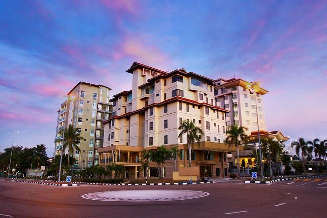 德安格瑞克服务公寓 - 斯里巴加湾市 - 建筑