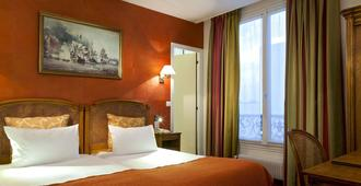 埃菲尔铁塔埃瓦里德贝斯特韦斯特酒店 - 巴黎 - 睡房