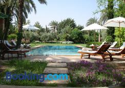 达尔泽穆拉酒店 - 马拉喀什 - 游泳池