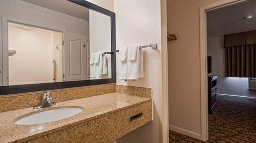 贝斯维斯特萨利纳斯蒙特利酒店 - 萨利纳斯 - 浴室