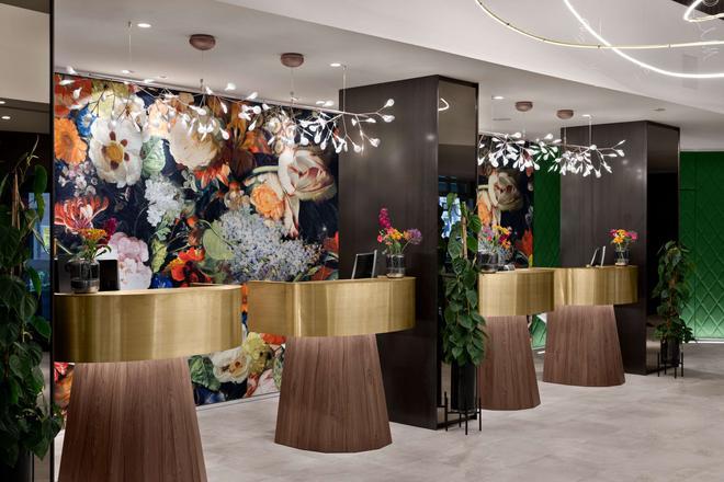 阿姆斯特丹nh卡尔顿酒店 - 阿姆斯特丹 - 柜台