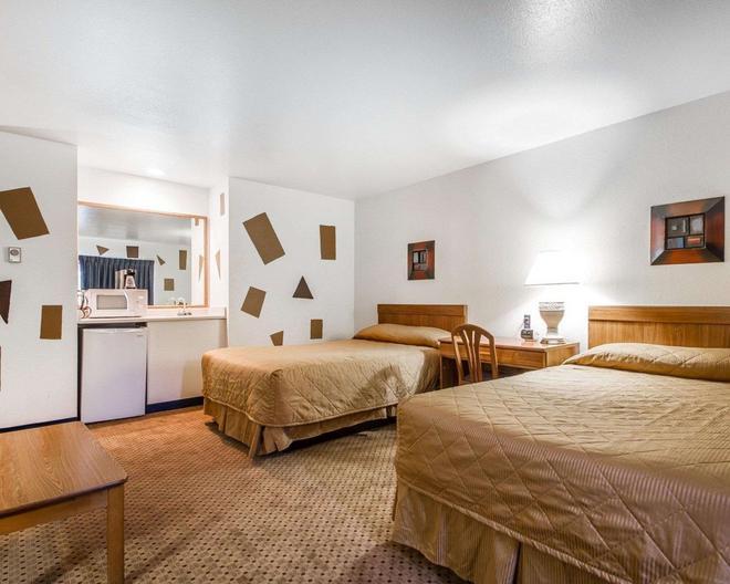 罗德威套房酒店威斯康星麦迪逊东北 - 麦迪逊 - 睡房