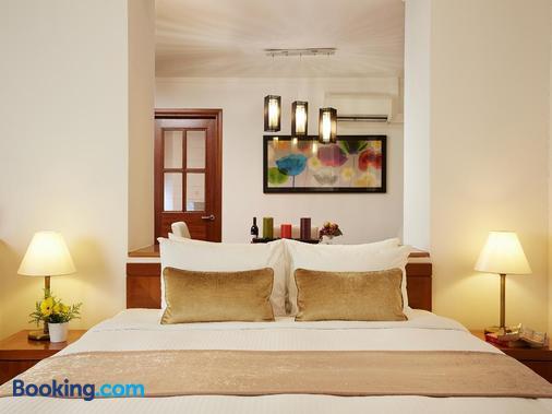新加坡河景酒店 - 新加坡 - 睡房