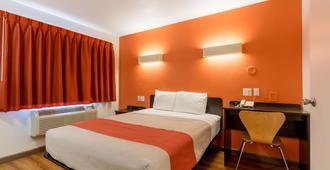德克萨斯加兰 - 达拉斯 6 号汽车旅馆 - 加兰 - 睡房