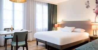 阿德吉奥巴黎蒙马特尔酒店 - 巴黎 - 睡房