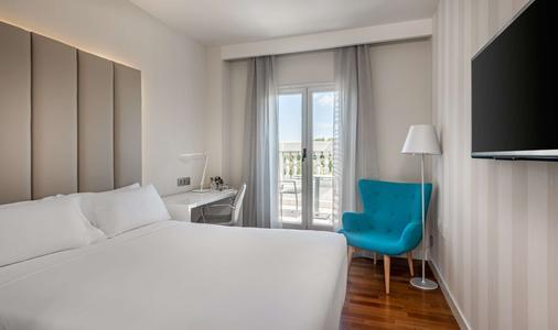 Nh马德里纳克纳尔酒店 - 马德里 - 睡房
