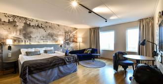 斯堪蒂克翠安格酒店 - 马尔默 - 睡房