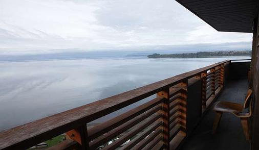 德洛斯火山梦想酒店 - 巴拉斯港 - 阳台