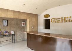 皮库恩诺大酒店 - 阿瓜斯卡连特斯 - 柜台