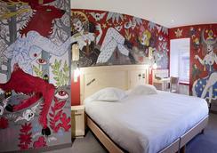 戈拉法尔加酒店 - 斯特拉斯堡 - 睡房