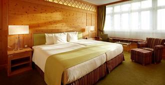 西霍夫酒店 - 达沃斯 - 睡房