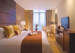 雅加达Cozmo奥卓豪景酒店公寓 - 南雅加达 - 睡房