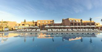 马拉喀什比莱夫体验帕米莱酒店- 式 - 马拉喀什 - 游泳池