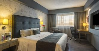 戴安娜广场酒店 - 瓜达拉哈拉 - 睡房