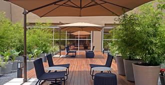特瑞普酒店 - 圣保罗机场 - 3号航站楼过境酒店 - 瓜鲁柳斯 - 露台