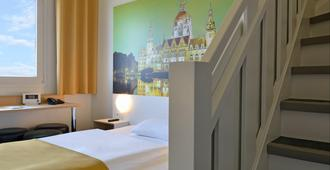 B&B Hotel Hannover-Nord - 汉诺威 - 睡房
