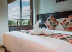 斐济维洛艾洛海滩华美达套房酒店 - 南迪 - 睡房