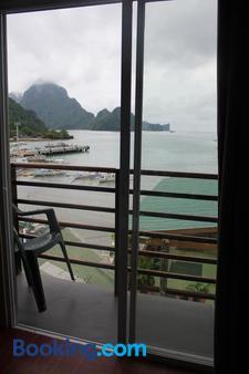 水上旅行山林小屋 - 爱妮岛 - 阳台
