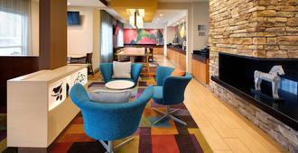印第安纳波利斯机场费尔菲尔德客栈 - 印第安纳波利斯 - 大厅