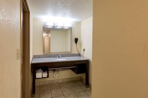 底特律都会机场克拉丽奥酒店 - 罗穆卢斯 - 浴室