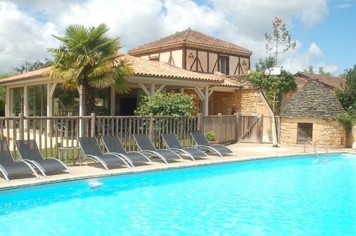 勒马斯 卡斯特酒店 - 萨尔拉拉卡内达 - 游泳池