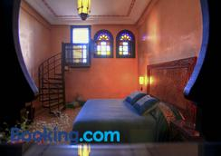 阿尔法希亚阿古达尔酒店 - 马拉喀什 - 睡房