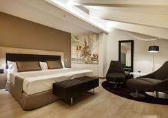 梅耶广场加泰罗尼亚酒店 - 马德里 - 睡房
