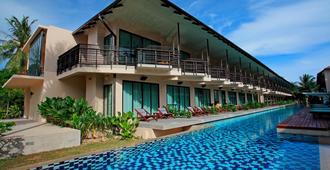 苏梅岛椰子海滩中心度假酒店 - 苏梅岛 - 建筑