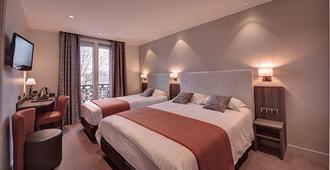 巴黎正午酒店 - 巴黎 - 睡房