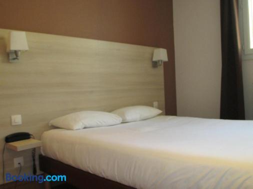 蒙特沙佩第戎中心酒店 - 第戎 - 睡房