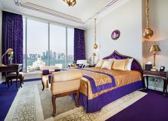 萨拉亚滨海酒店 - 多哈 - 睡房