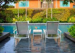 芭堤雅柑橘公园酒店 - 芭堤雅 - 游泳池