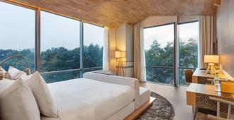 西贡融合套房酒店 - 胡志明市 - 睡房