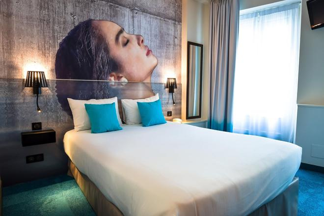 波赫都斯涛特尔酒店 - 拉罗谢尔 - 睡房