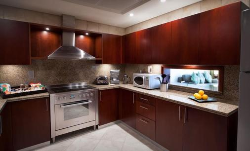 Ja绿洲海滩大厦公寓 - 迪拜 - 厨房