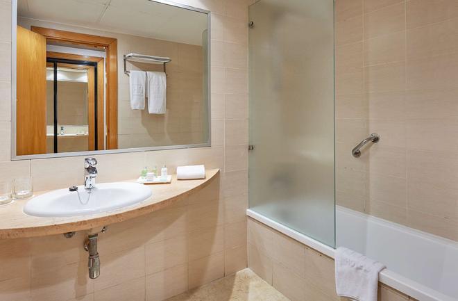 恩尔茨瓦伦西亚城市酒店 - 巴伦西亚 - 浴室