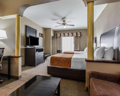贝克斯菲尔德凯富套房酒店 - 贝克斯菲尔德 - 睡房