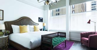 比克曼汤普森酒店 - 纽约 - 睡房