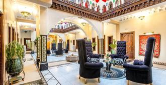 马拉喀什里酒店与里亚德艺术广场 - 马拉喀什 - 大厅