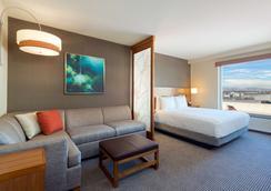 丹佛市中心凯悦广场酒店 - 丹佛 - 睡房
