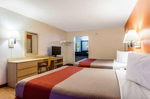 亚特兰大西北玛丽埃塔6汽车旅馆 - 玛丽埃塔市 - 睡房