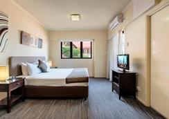 布伦斯瑞克中央公寓酒店 - 布里斯班 - 睡房