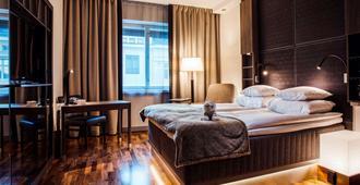 格洛艺术酒店 - 赫尔辛基 - 睡房