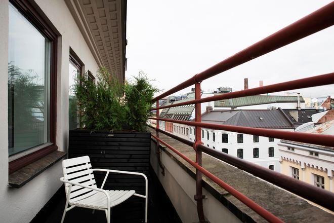 奥斯陆城市之盒酒店 - 奥斯陆 - 阳台