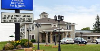 夏洛特敦加拿大最佳价值套房酒店 - 夏洛特顿 - 建筑