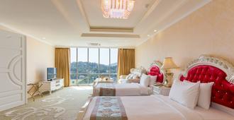 格兰德康提亚酒店 - 康提 - 睡房