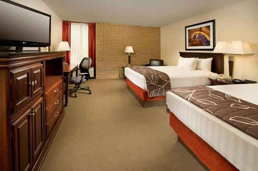 都伯林哥伦布德鲁套房酒店 - 都柏林 - 睡房